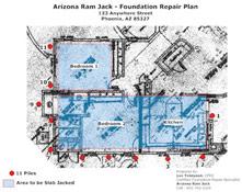 arizona foundation repair plan Casas Adobes, Tucson Estatesand theDrexel Heights, arizona