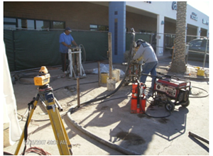 underpinning to stabilize the foundation in Tucson