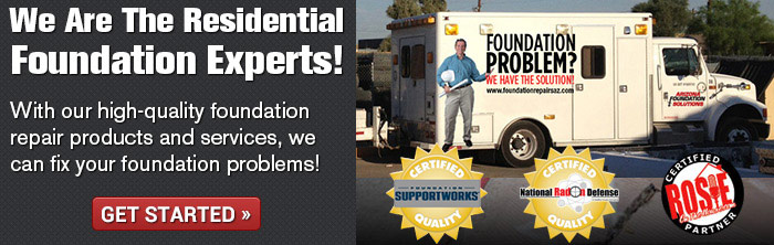 We are Greater Tucson's foundation repair experts! Get a free inspection.