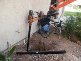 foundation piering process tucson Arizona
