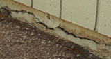 Concrete crack repeair in Bisbee